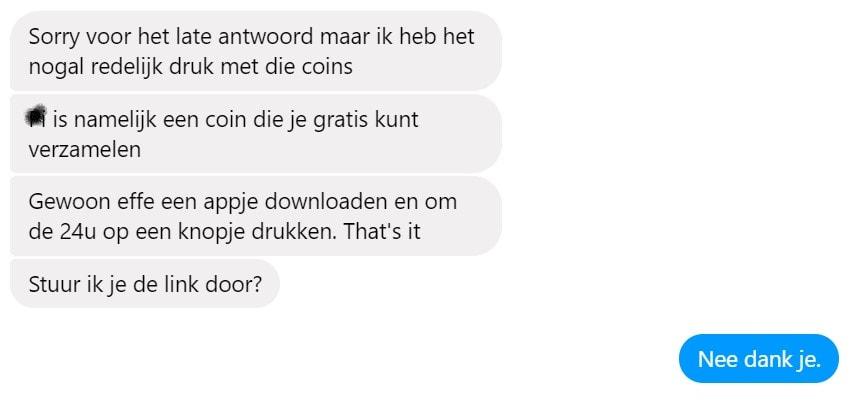 crypto scam ja nee