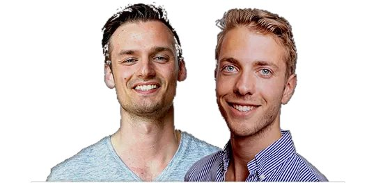 Alles Over Crypto founders Patrick Suiker en Derek Westra