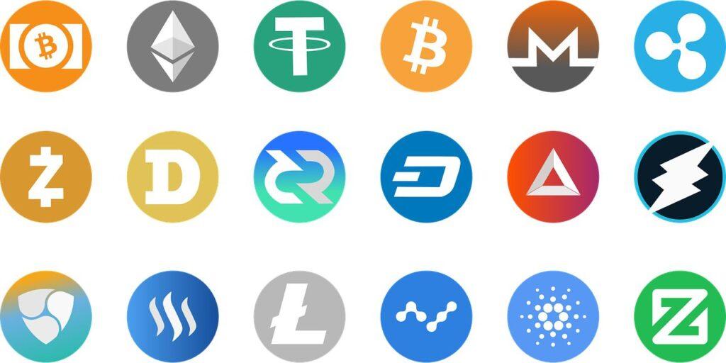 verschillende cryptovaluta
