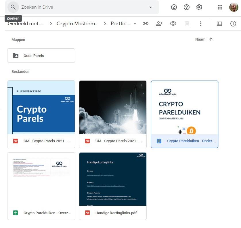 crypto parels inhoud