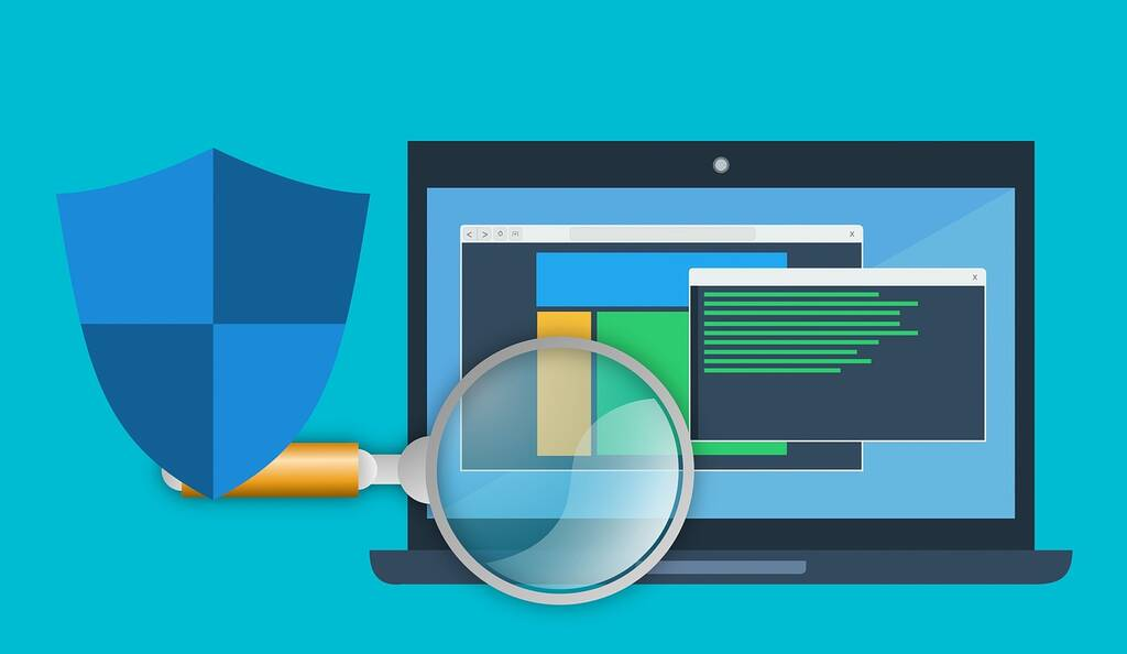 computer beveiliging illustratie
