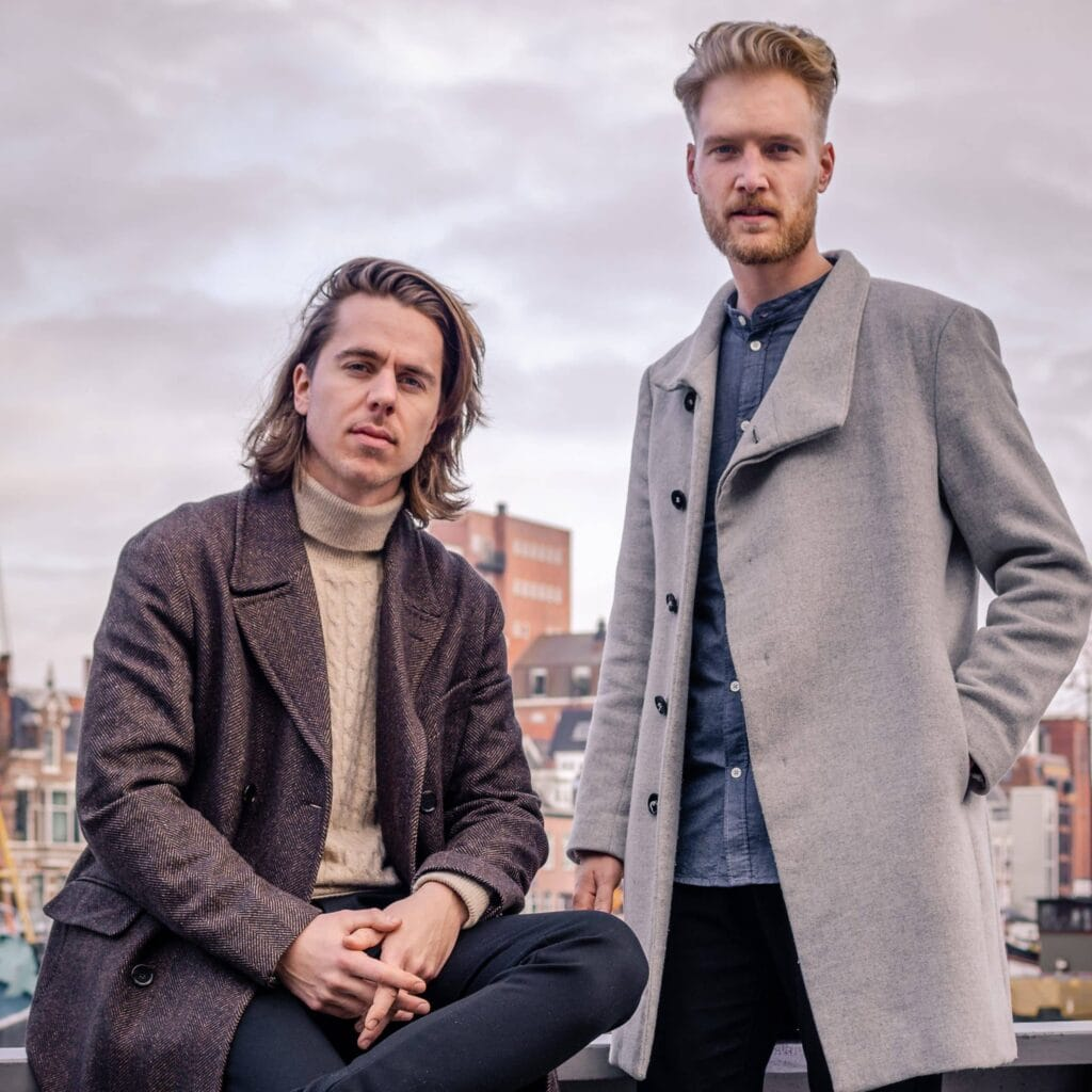 Cryptomanuals oprichters Abe Dijkstra en Max Kruisbrink