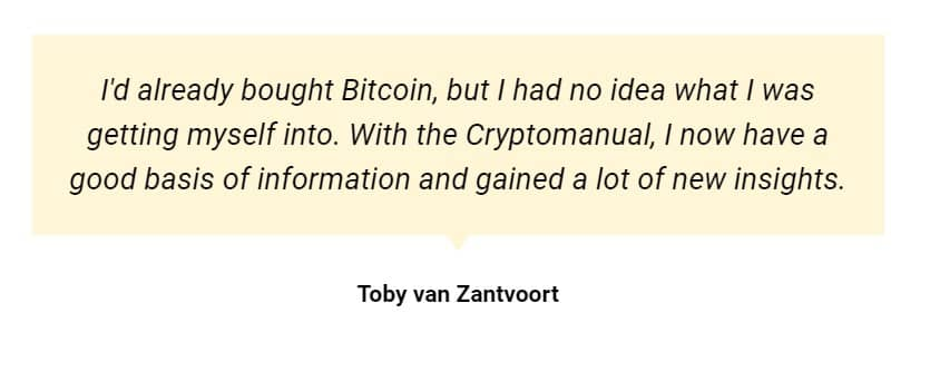 cryptomanuals ervaring