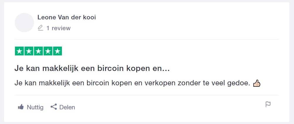 Bitcoin meester ervaring via Trustpilot