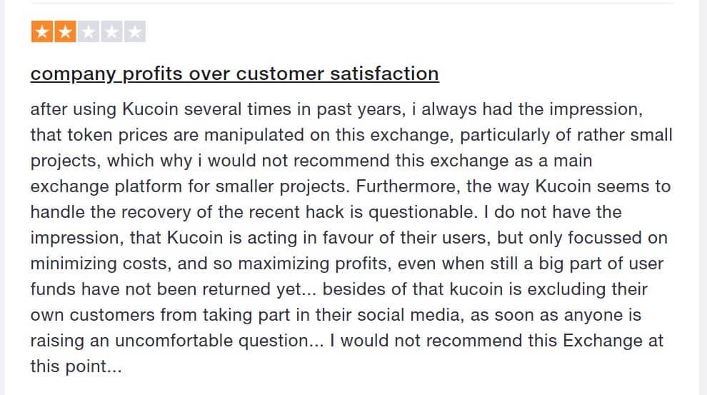 Kucoin review: eerlijke recensie van gebruiker