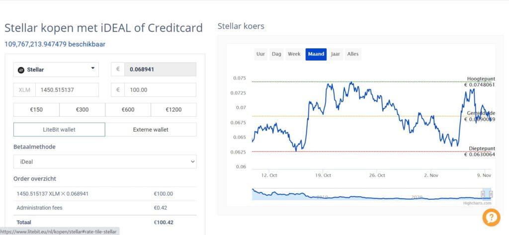 Litebit review: user interface website