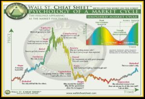 wallstreet cheat sheet emoties en de bull markt / bear markt
