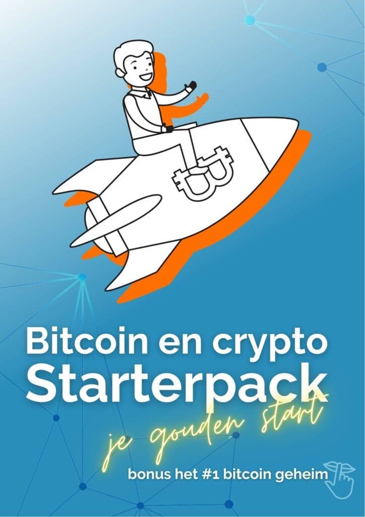 bitcoin en crypto starterpack gratis ebook cover