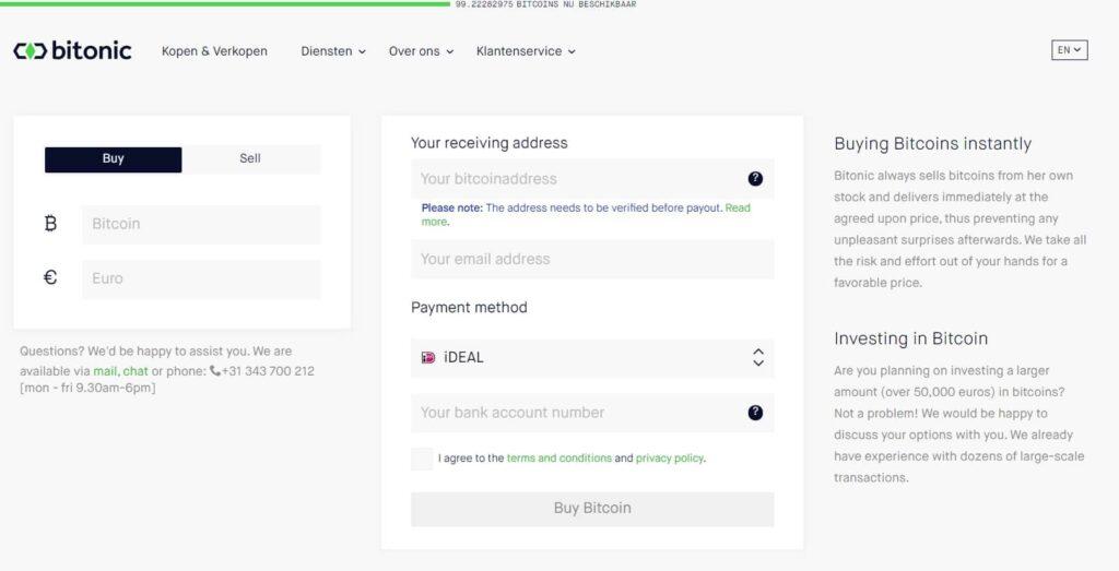 bitcoin kopen en verkopen met bitonic