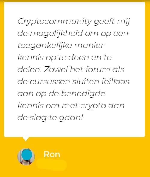 crypto community recensie