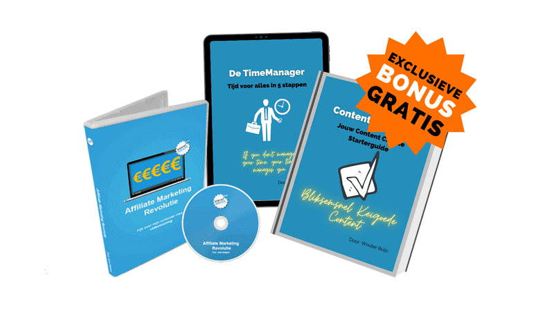 Affiliate Marketing Revolutie kopen - beste deal met gratis bonuspakket