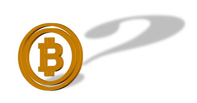 bitcoin toekomst vraagteken