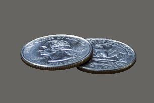 fysiek zilver munt