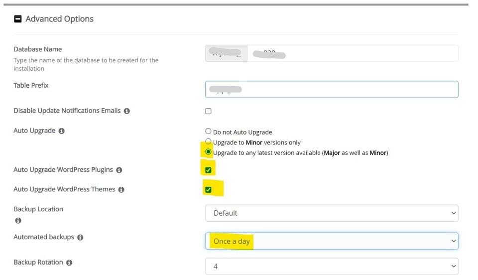 Affiliate marketing website maken: WordPress Installeren instellingen