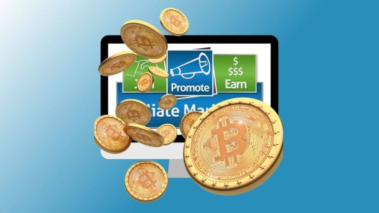 Crypto affiliate marketing cover