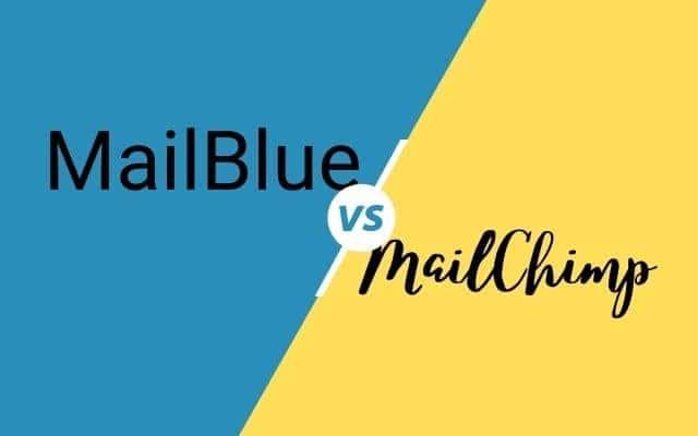 Mailblue vs Mailchimp cover